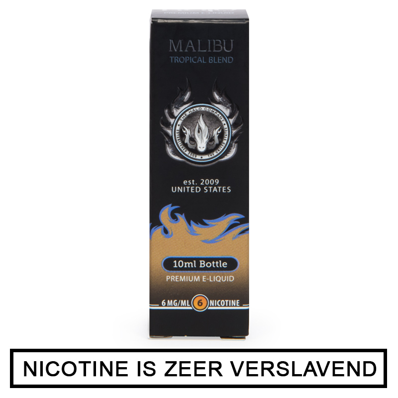 Malibu Menthol E-Liquid 10ml (Halo)