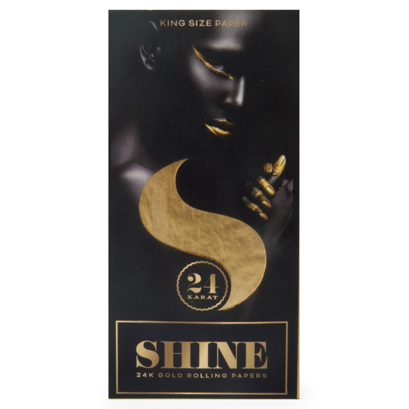 24K Gold Papers King Size (Shine)
