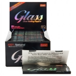 Glass 1¼ Clear Rolling Papers Display (24 pcs)