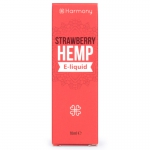 CBD E-Liquid Strawberry Hemp 0mg Nicotine (Harmony)