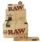RAW Connoisseur King Size Slim & Tips Display (24 pcs)