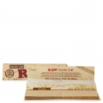 Raw Organic Connoisseur King Size Slim & Tips 1 pc