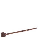 Rosewood Pipe with Brass Ring 2-Part 41cm