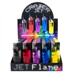 Electronic Lighter Jet Flame (Crater Jet) Display