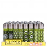 Lighter Weed Pattern (Clipper) Display (48 pcs)