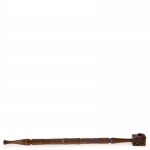Rosewood Pipe Carved 28cm