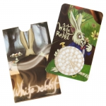 Grinder Card Alice in Grinderland White Rabit