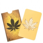 Grinder Card Gold Leaf