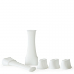 G Pro Mouthpiece Sleeves (Grenco) White