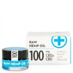Raw Hemp Oil Paste 10% CBD 100mg (Endoca)