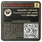 Skywalker Kush Feminized (DNA Genetics)