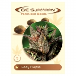 Lady Purple Feminised (De Sjamaan Cannabis Seeds) 5 seeds