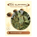 Shaman's High Feminised (De Sjamaan Cannabis Seeds) 5 seeds