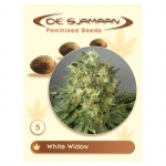 White Widow Feminised (De Sjamaan Cannabis Seeds) 5 seeds